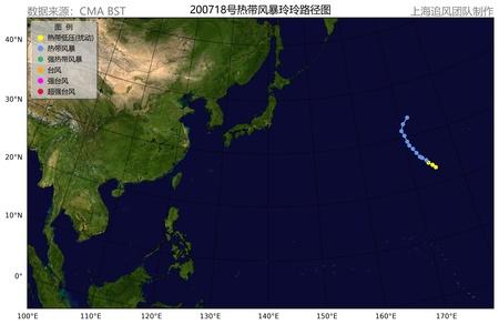 """2007年第18号热带风暴""""玲玲"""""""