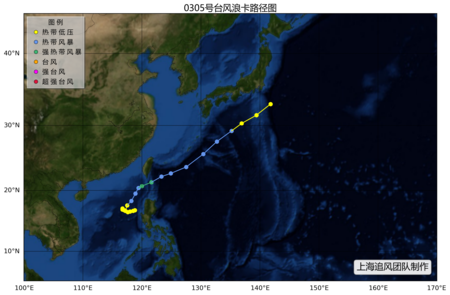 """2003年第5号强热带风暴""""浪卡"""""""